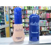 Base De Maquillaje En Barra Y Liquido Nailen Docena 4210 C/u