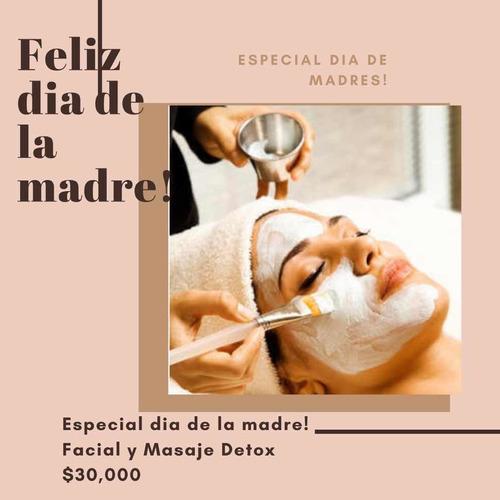 facial y masaje detox