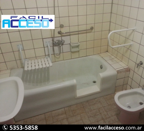 fácil acceso - haga segura su bañera sin remodelar su baño!