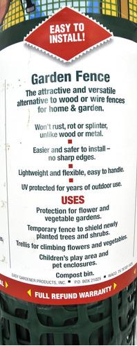 fácil jardinero de la valla del jardín de enrejado de madera