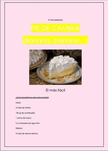 fácil recetario postre pies tartas inicia negocio