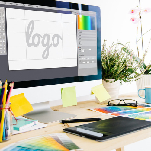 faço criação de logos, banners, entre outros