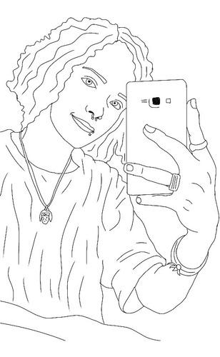 faço desenhos de você! objetos,lugares ou animais