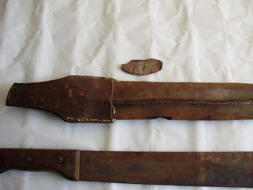 facão - faca antigo marca cavalinho lamina de 16 pol -40cm