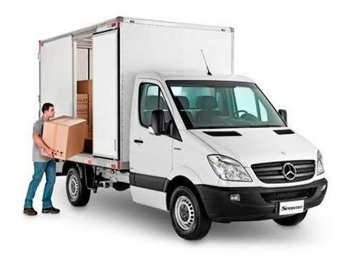 faço frete, mudanças, transporte de cargas em geral