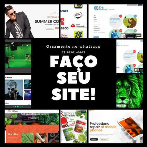 faço seu site
