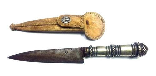 facon criollo cuchillo la argentina 23 cm cabo alpaca canjeo