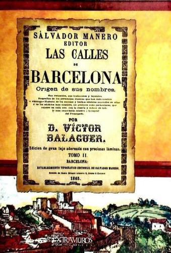 facs¿mil: las calles de barcelona. tomo ii(libro historia lo