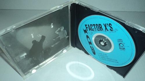 factor x's la musica sube cd solo para coleccionistas