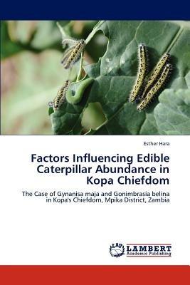 factors influencing edible caterpillar abundanc envío gratis