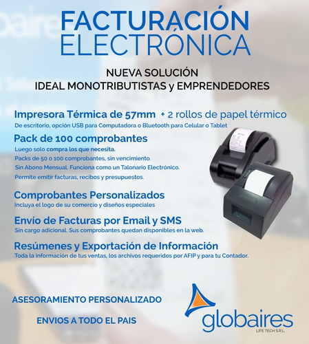 factura electronica impresora termica reemplaza controlador