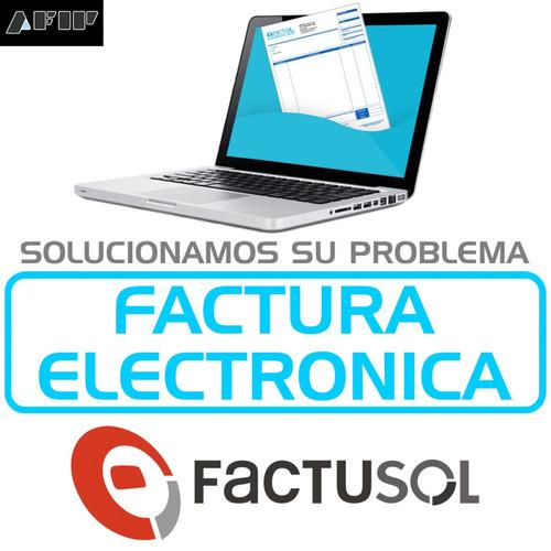 factura electrónica para factusol
