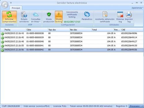 factura electrónica - software para autorizar con txt