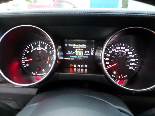 factura original ford, nuevo solo 1400 km 8 cil. automa 10 v