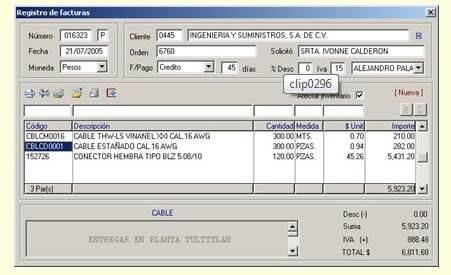 facturación electrónica 3.3