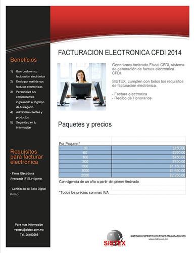 facturacion electronica cfdi