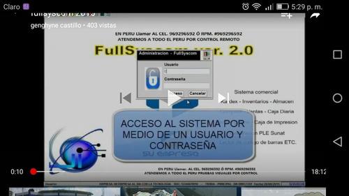 facturacion electronica con facturador sunat peru - sullana