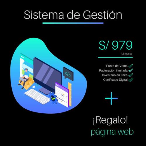 facturación electrónica + página wev