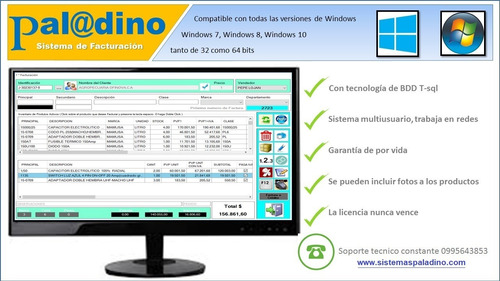 facturacion electronica paladino programa sistema software
