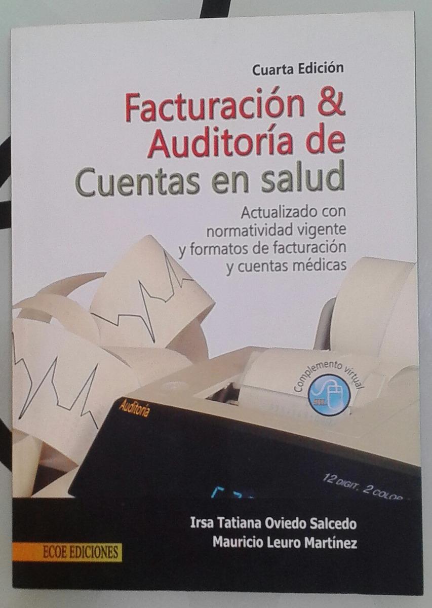 32dfbcb11ea2 Facturacion Y Auditoria De Cuentas En Salud Libro Nuevo