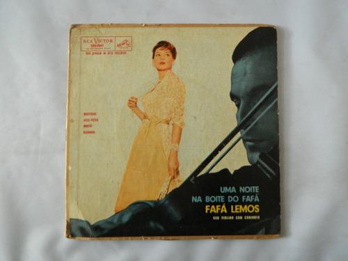 fafá lemos - uma noite na boite do fafá - compacto ep 45