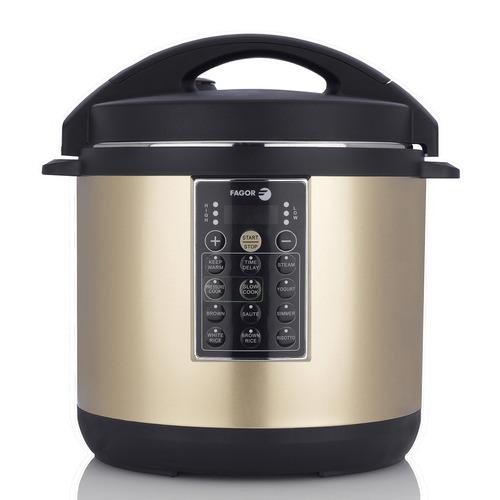fagor lux multi-cocina, 6 cuartos, eléctrica, olla a presión