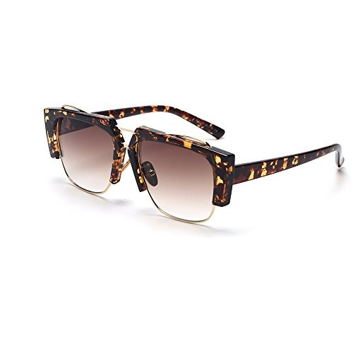 59261f7c89 Faguma Gafas De Sol Semi Sin Montura De Moda Para Mujeres ...