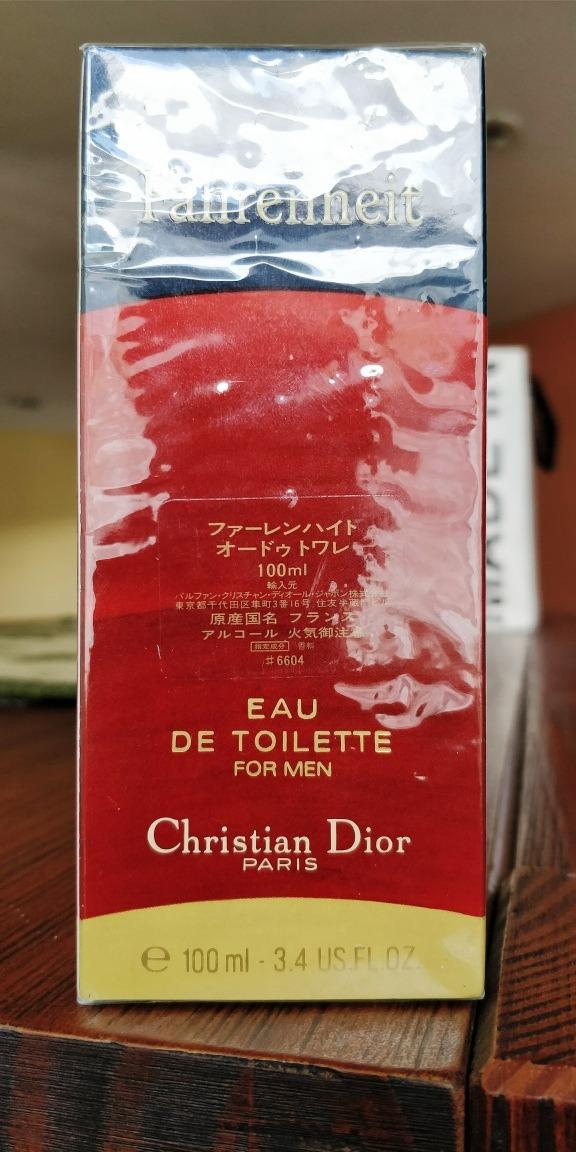 9a903c0c309 fahrenheit vintage 1998 christian dior 100ml 1.ª fórmula. Carregando zoom.