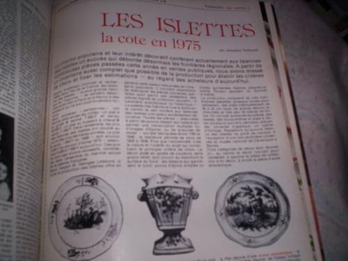 faianças islettes classificação em 1975