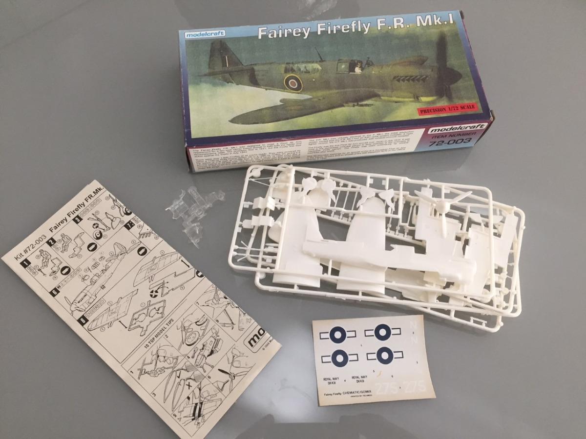 Fairey Firefly F r  Mk 1  Esc  1/72 - Modelcraft