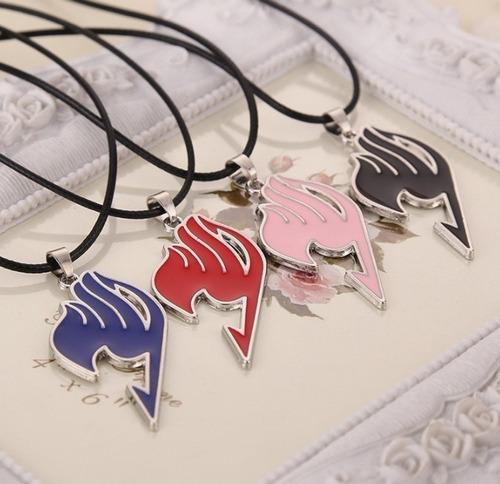 fairy tail collar dije moda acero anime simbolo + envio grat
