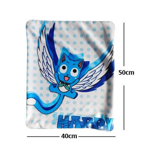 fairy tail happy funda de almohada de 40 x 50cm