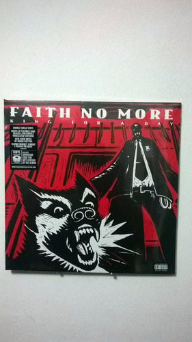 faith no more king for a day... fool for a lifetime (2lp)