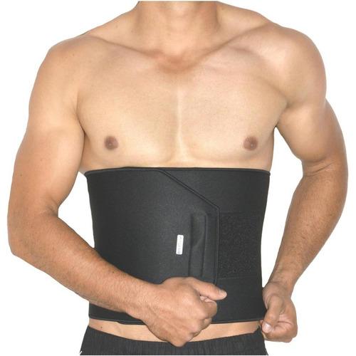 faixa abdominal bioativa famara 25cm preta