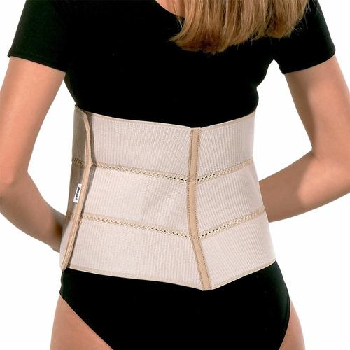 faixa abdominal elástica ajustável 20 x 120 cm mercur
