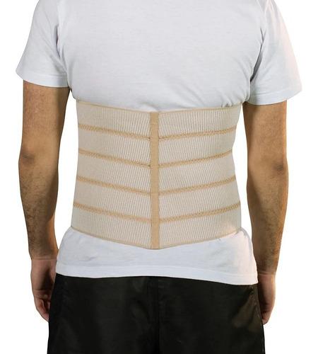 faixa abdominal elástica ajustável 25 x 140 cm mercur