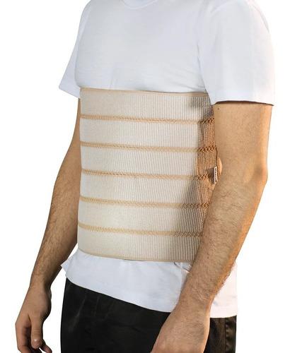 faixa abdominal elástica ajustável 30 x 140 cm mercur