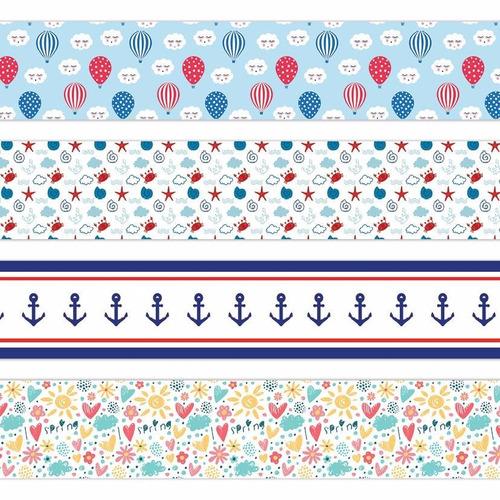 faixa adesiva border  quarto de bebê  infantil