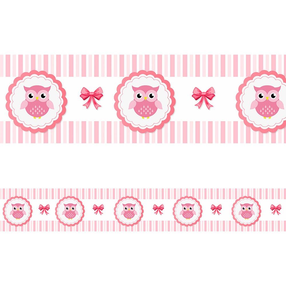 1b5890a05 faixa adesiva decorativa parede bebe para quarto corujinha. Carregando zoom.