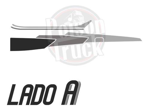 faixa adesiva porta caminhão mb 1113 1114 1313 2013 prata