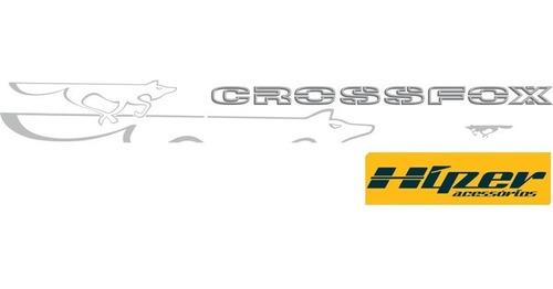 faixa adesivo crossfox 2008 em diante
