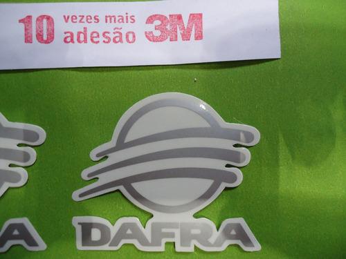 faixa adesivos dafra 100 08 09 10 preta
