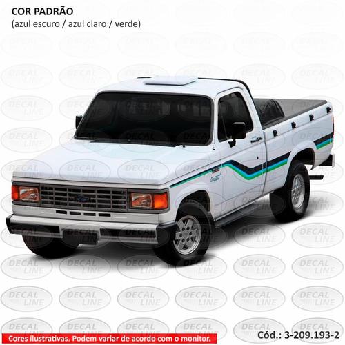faixa auto adesiva d20 1992 conquest - cabine simples