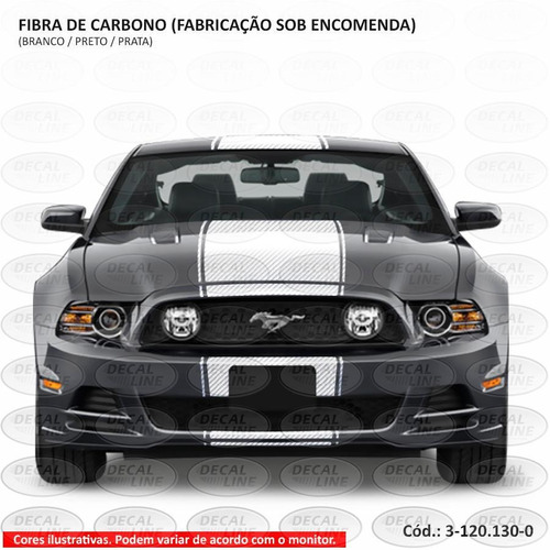 faixa auto adesiva gt 2013 - fibra de carbono
