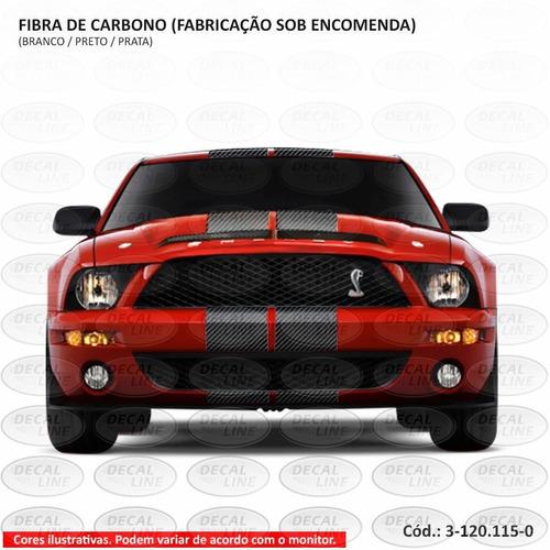 faixa auto adesiva gt500 2008 - fibra de carbono