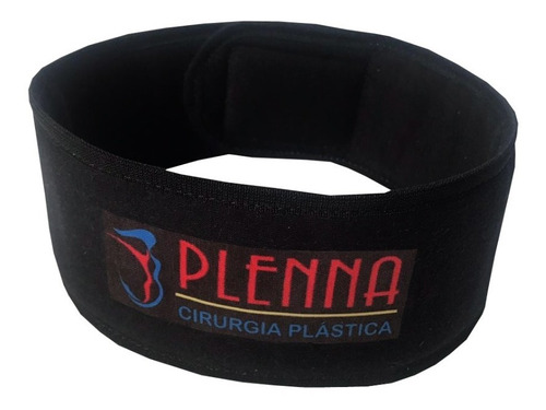 faixa cabelo com velcro preta 12un personalizada
