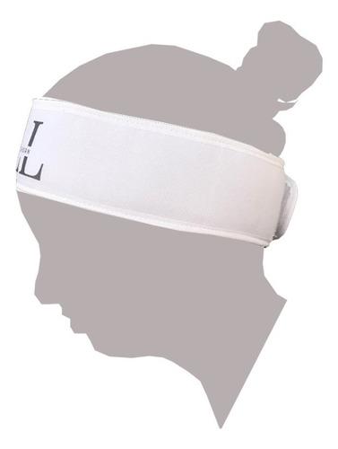 faixa cabelo com velcro preta 20un personalizada