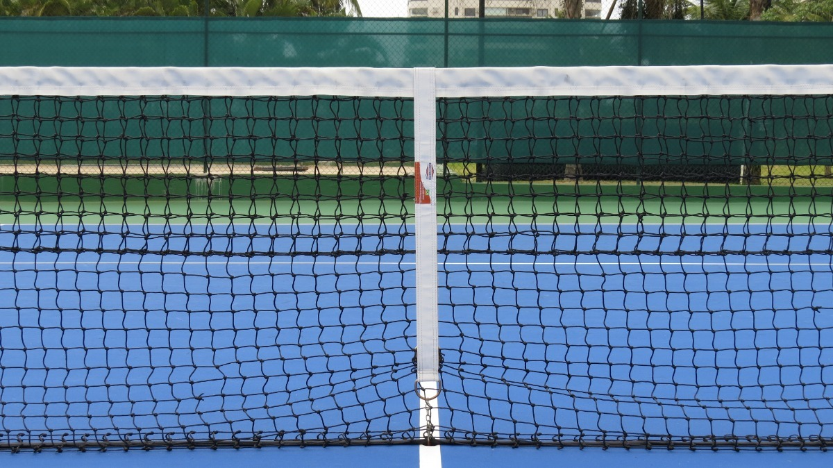a6271d712 faixa central para rede de tênis. Carregando zoom.