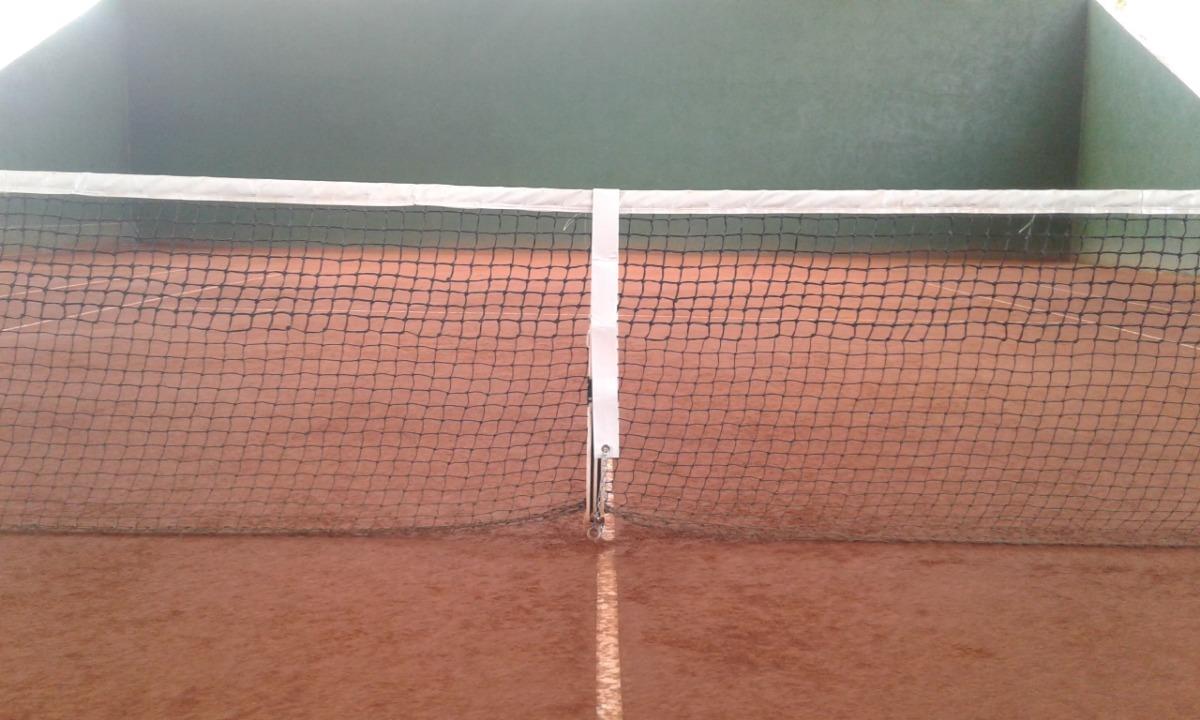 f1100aa02 faixa central para rede de tênis + corrente com mosquetão. Carregando zoom.