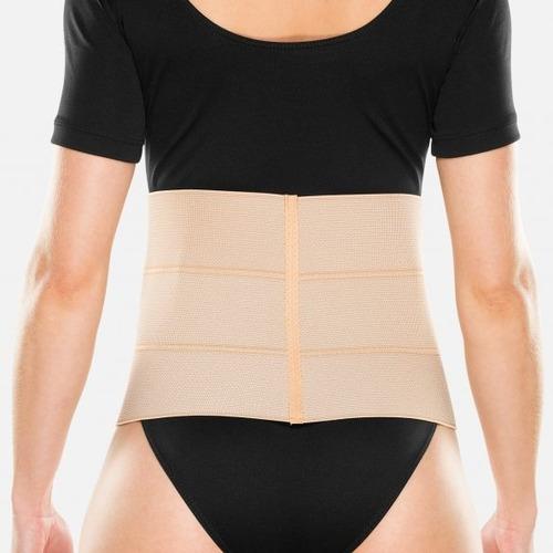 faixa cinta abdominal elástica 3 painéis gomos c319 chantal